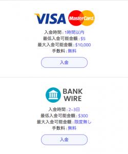 wisebitcoinの入金方法紹介画像1