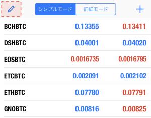 wisebitcoinのMT5の通貨ペアの変更方法1