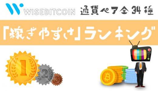 【検証企画】Wisebitcoin商品ガイドをランキング!!稼ぎやすい通貨ペア見つけました!