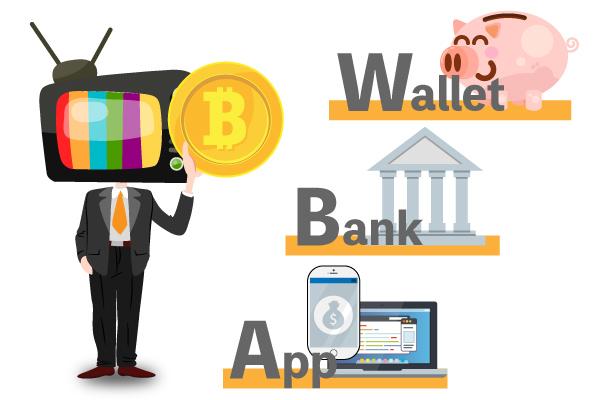 仮想通貨の管理ツールをイメージした画像