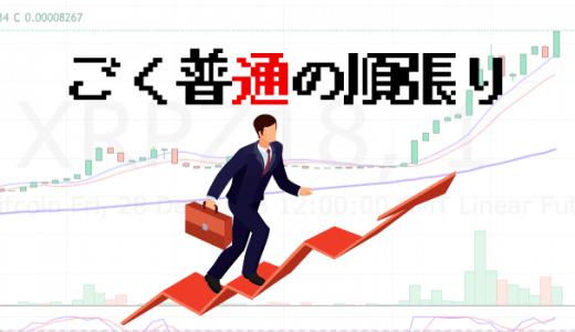 BTCFX!ごく普通の順張りトレードで4万円いただき